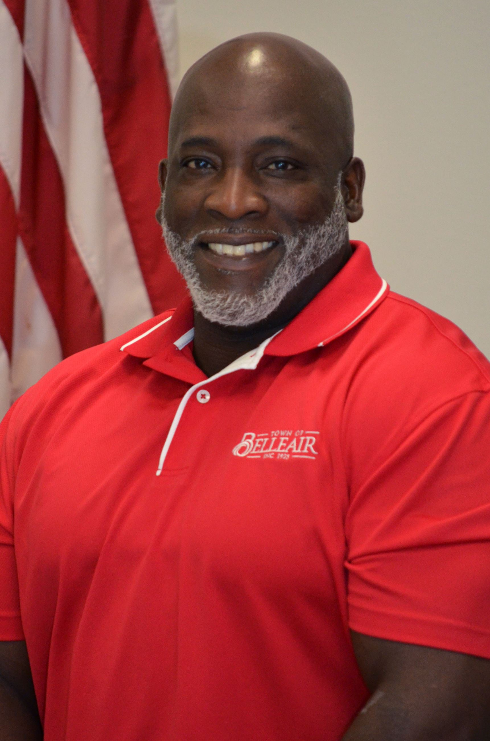 Formal photo of Wilfred Holmes, Solid Waste Supervisor for the Town of Belleair.