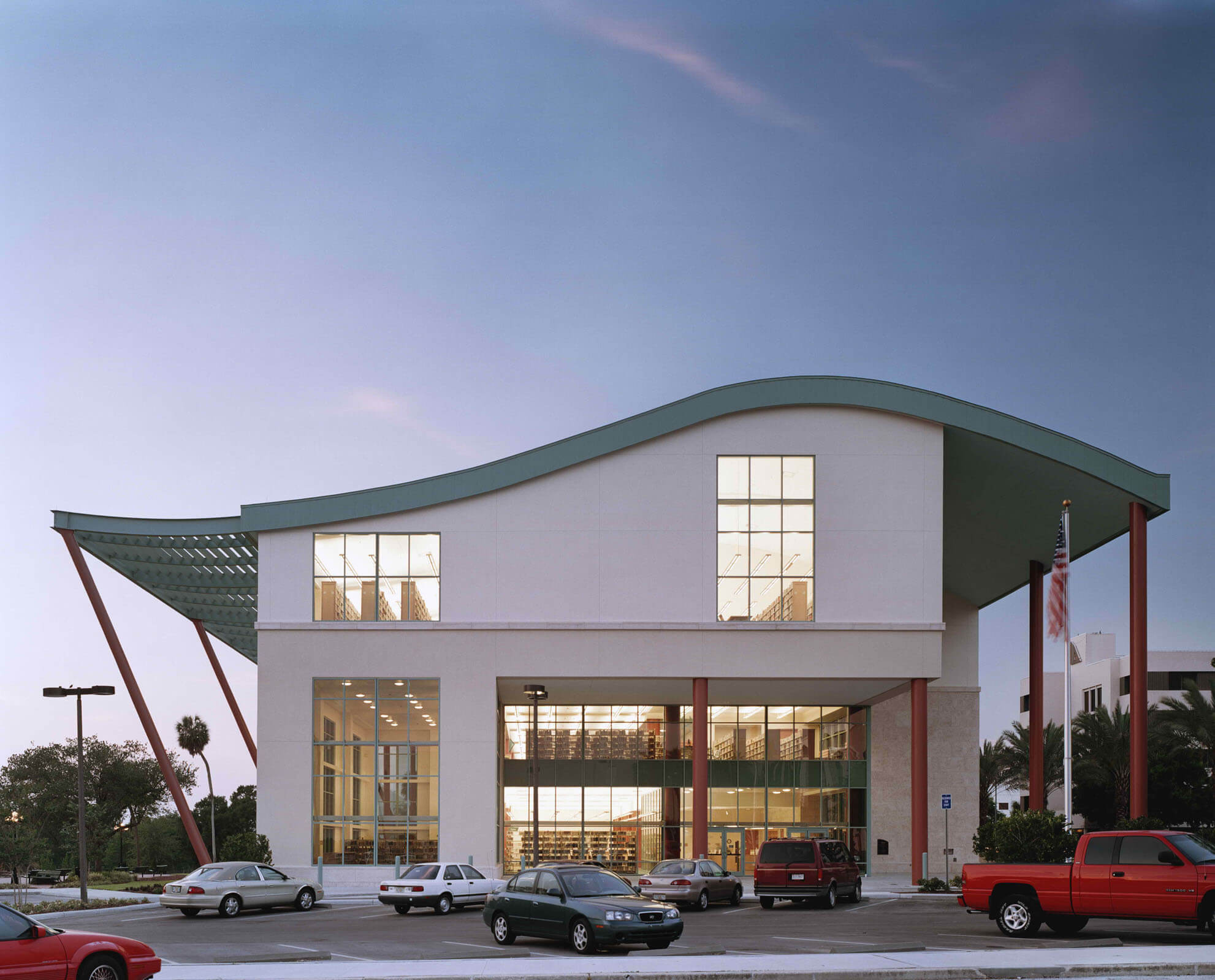 Exterior of the Clearwater Main Public Library